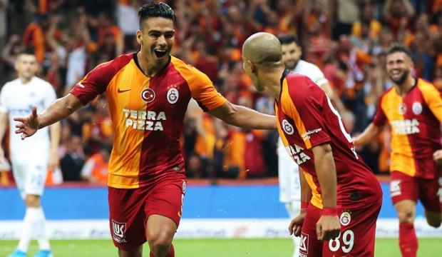 Falcao siftah yaptı Galatasaray kazandı!