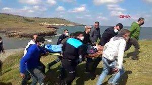 Foça'da askeri eğitim uçağı düştü! 2 pilot sağ kurtuldu
