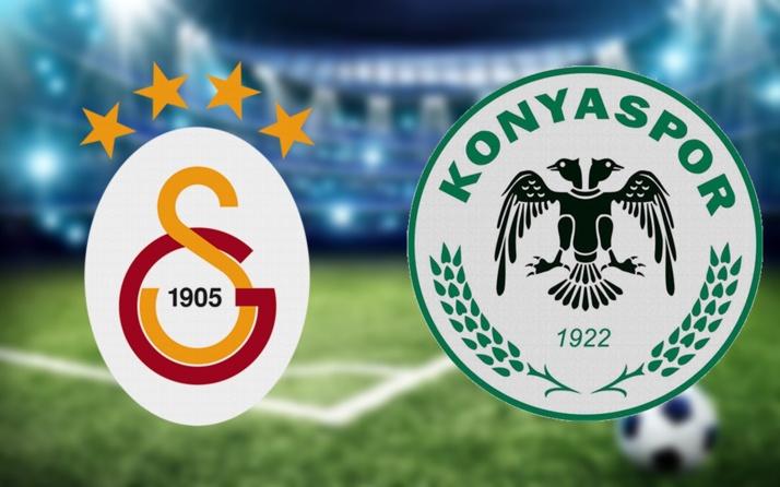 Galatasaray Konyaspor maçı CANLI YAYIN