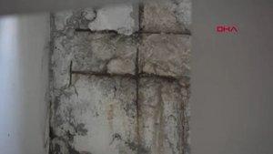 Hasarlı binalara 'boyalı' ölüm tuzağı