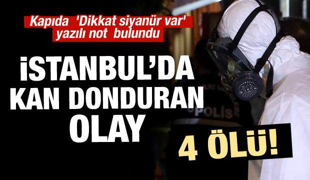 İstanbul'da korkunç olay! 4 kardeş ölü bulundu
