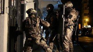İstanbul'da terör örgütü PKK operasyonu: 5 gözaltı