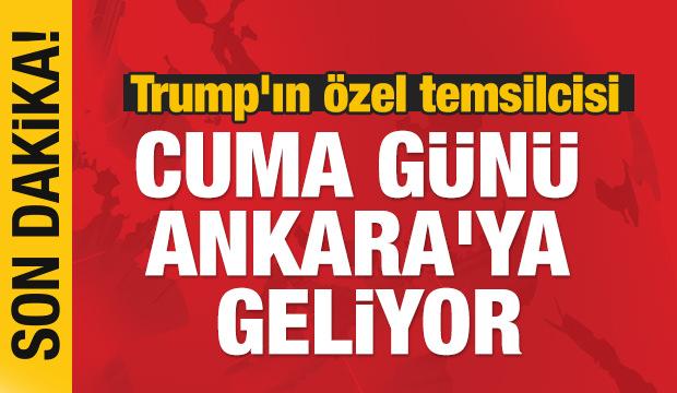 Jeffrey cuma günü Ankara'ya geliyor