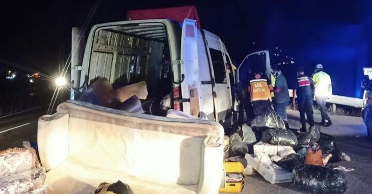 Karabük'te trafik kazası: Gürcistan uyruklu 7 kişi yaralandı