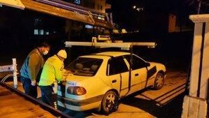 Kısıtlamayı ihlal eden alkollü sürücüye ceza yağdı