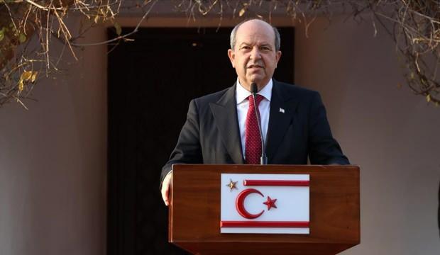 KKTC Cumhurbaşkanı Tatar: Türkiye'nin garantörlüğü kırmızı çizgimizdir