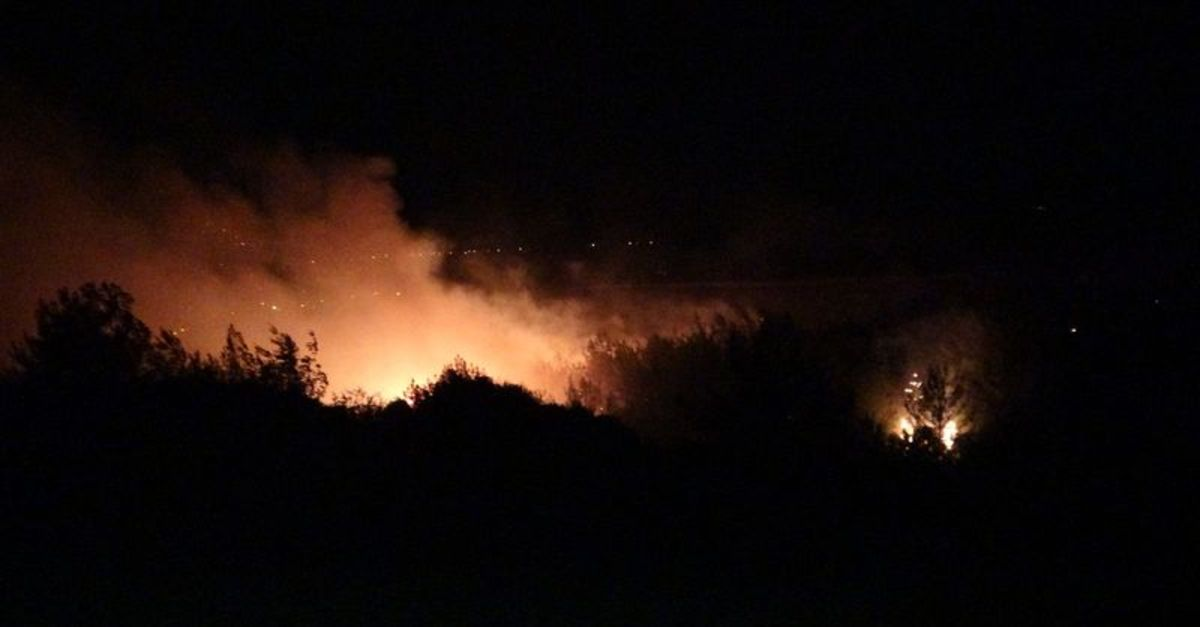 Kozan'da bir günde iki orman yangını