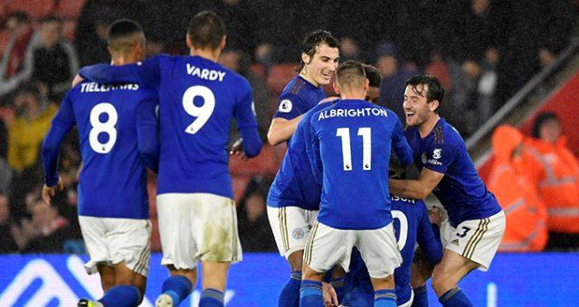 Leicester City, Southampton'ı 9-0 yenerek rekor kırdı!