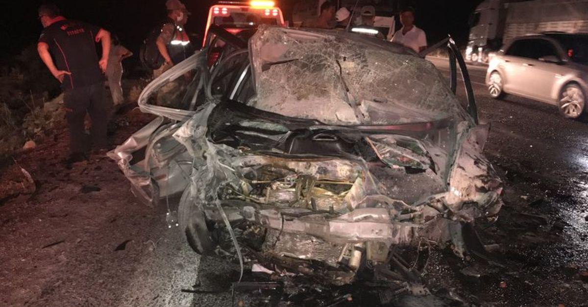 Malatya'da feci kaza! 1 ölü, 2 yaralı
