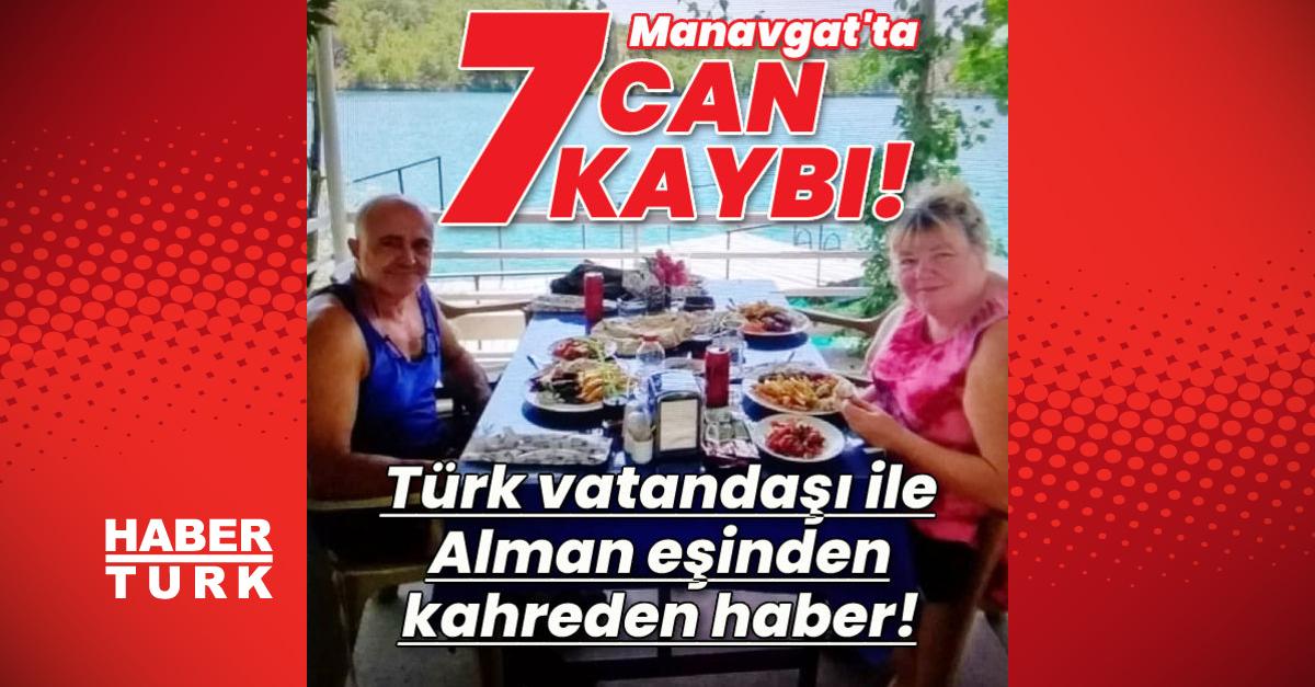 Manavgat'ta can kaybı 7'ye yükseldi!