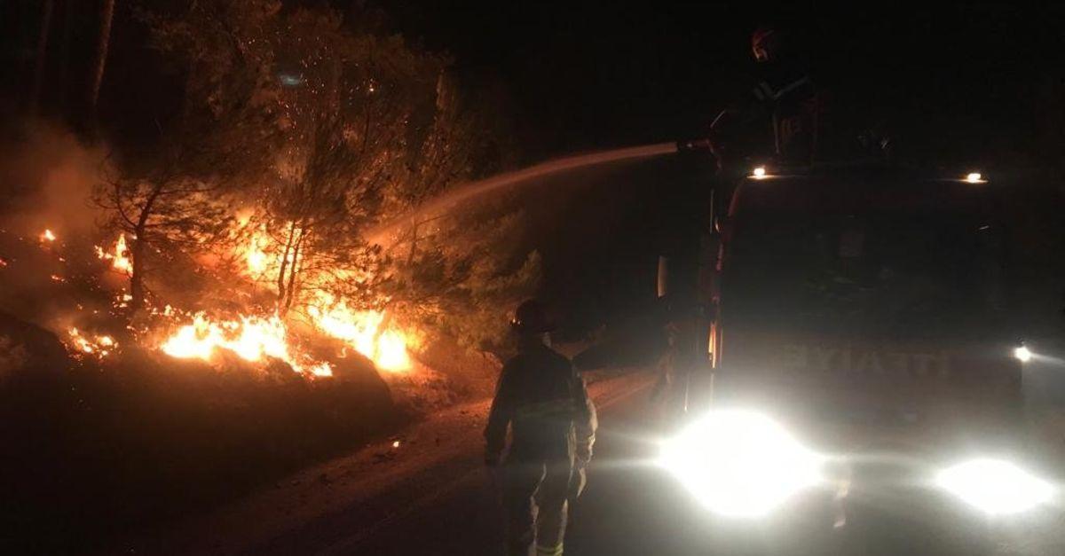 MSB: 400'den fazla Mehmetçik alevlere müdahale ediyor