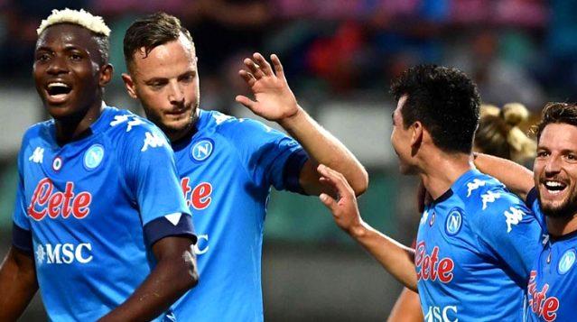 Napoli, hazırlık maçında rakibini 11-0 mağlup etti