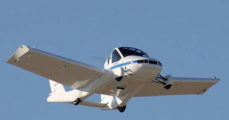 Onaylanan İlk Uçan Araba Transition!