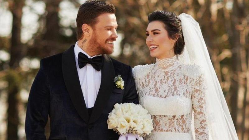 Sinan Akçıl ve Burcu Kıratlı ikinci kez evlendi