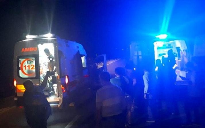 Sivas'ta HES kanalı patladı: Araçlar suya kapıldı