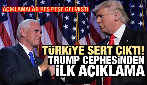 Son Dakika Haberi: Bir hafta sonra Trump cephesinden Türkiye çıkışı