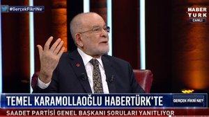 SP Lideri Karamollaoğlu Habertürk'e konuştu