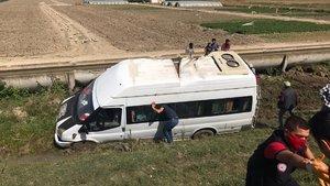 Tarım işçileri kaza yaptı: 2'si ağır 7 yaralı