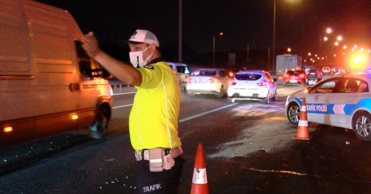 TEM Otoyolu'nda trafik kazası: 3'ü çocuk, 7 yaralı