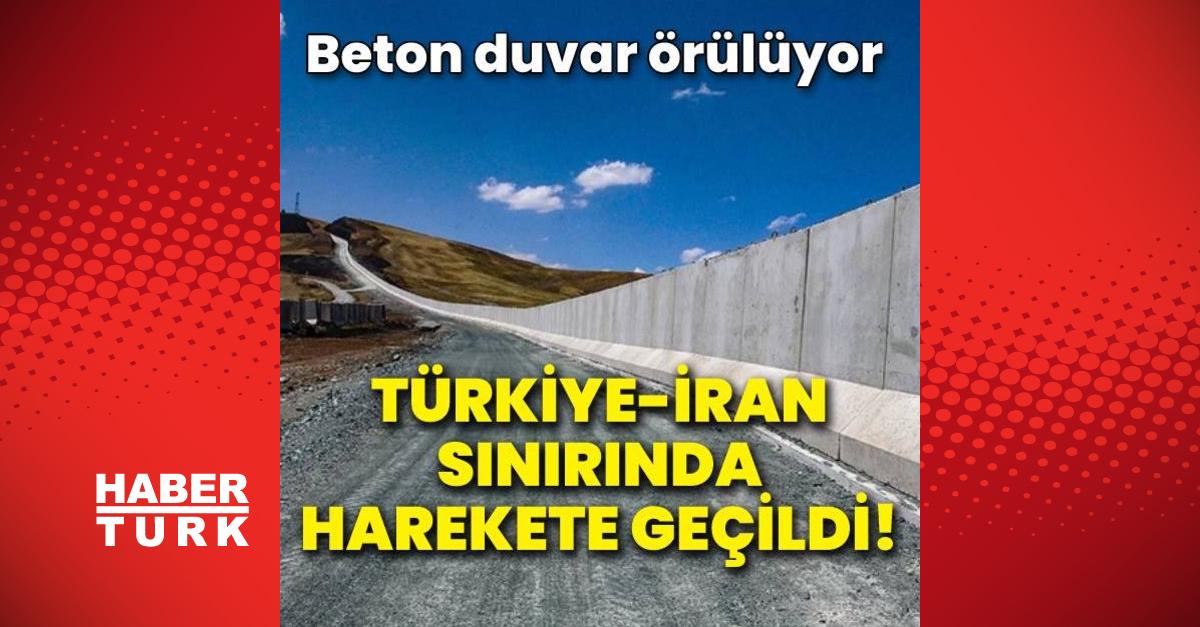 Türkiye-İran sınırında harekete geçildi!