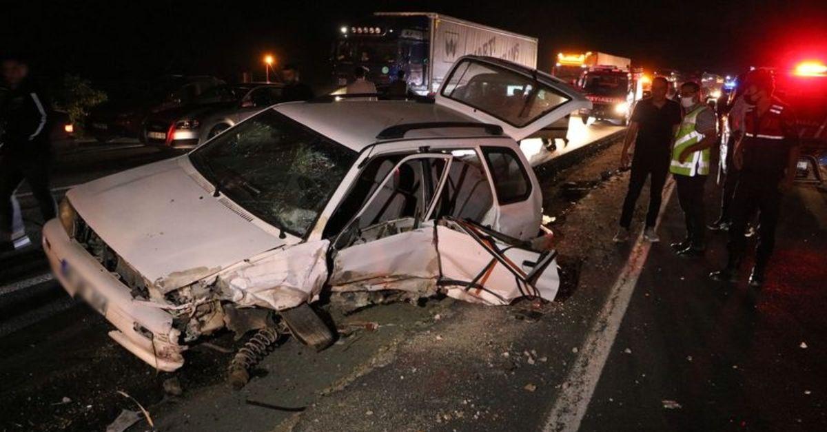 Yozgat'ta zincirleme trafik kazası: 7 yaralı